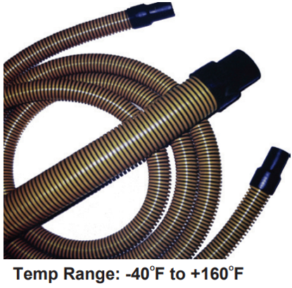 """EBH"" LIGHTWEIGHT PORTABLE SANITATION SUCTION HOSE"