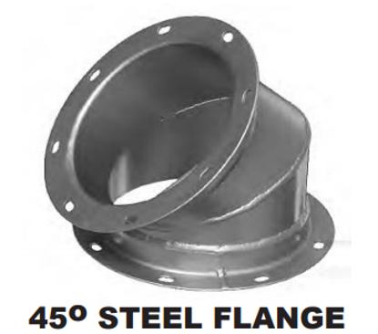 45 Degree STEEL FLANGE