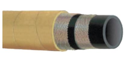 T142AK - 600 PSI High Temp -Oil Resistant Steel Braid Air Hose