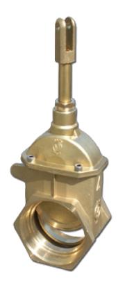 Brass Piston Valve FE-NPT x FE-NPT