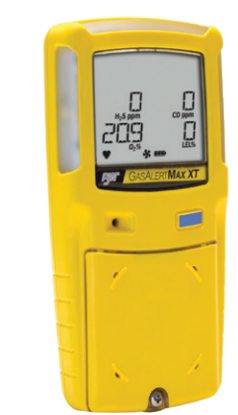 BW Gas Alert Max XT Multi-Gas Monitoring